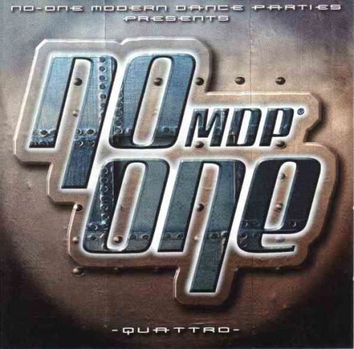 VARIOUS - No-one Mdp -quattro- - CD