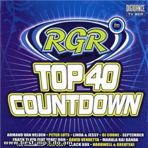 VARIOUS - Rgr Top 40 Countdown - CD 2枚