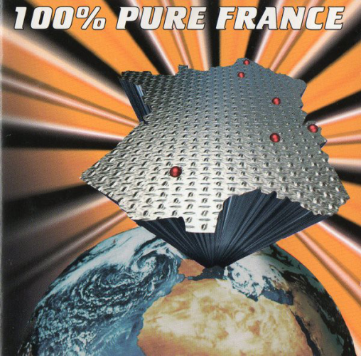 VARIOUS - 100% Pure France - CD