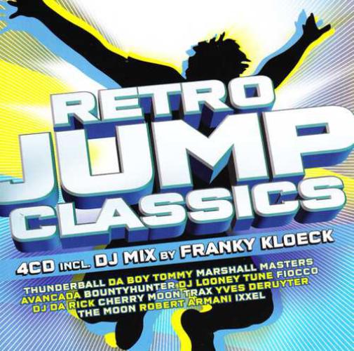 VARIOUS - Retro Jump Classics - CD x 4