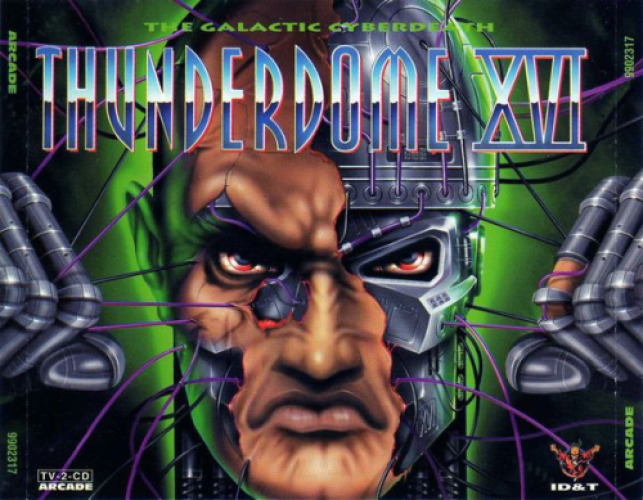 VARIOUS - Thunderdome Xvi - The Galactic Cyberdeath - CD x 2