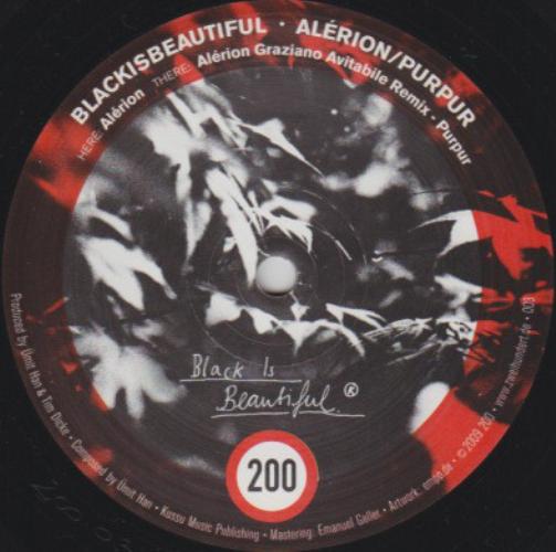 BLACKISBEAUTIFUL - Alérion / Purpur - Maxi x 1