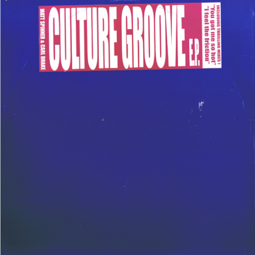 SPINNER & DRAKE - Culture Groove Ep - Maxi x 1