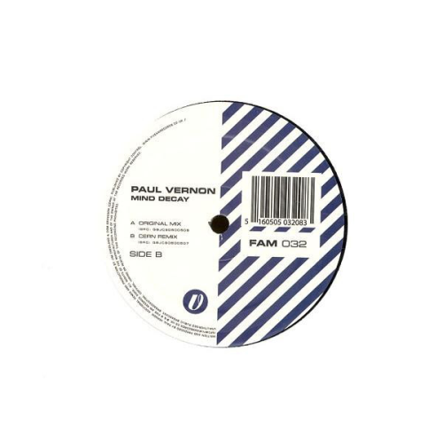PAUL VERNON - Mind Decay - Maxi x 1