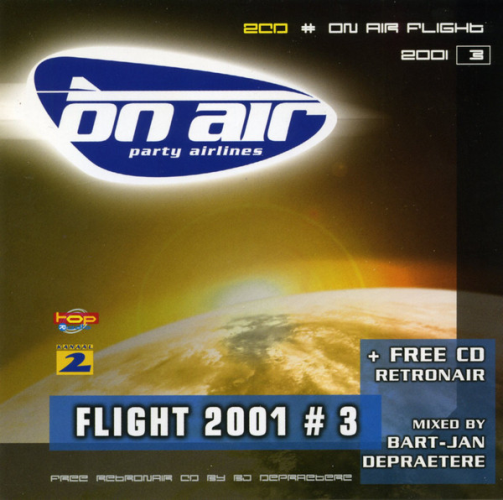VARIOUS - On Air Party Airlines - Flight 2001 / 3 - CD x 2
