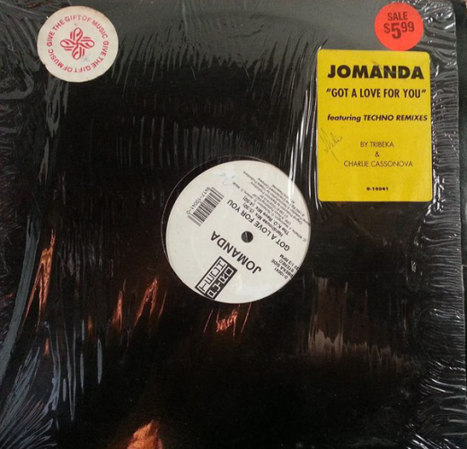 JOMANDA - Got A Love For You - Maxi x 1