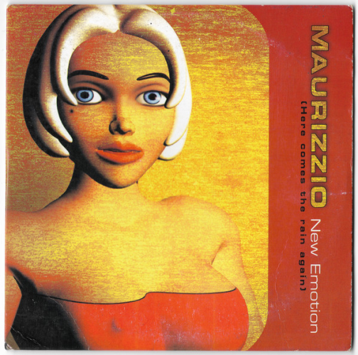 MAURIZZIO - New Emotion (here Comes The Rain Again) - CD single