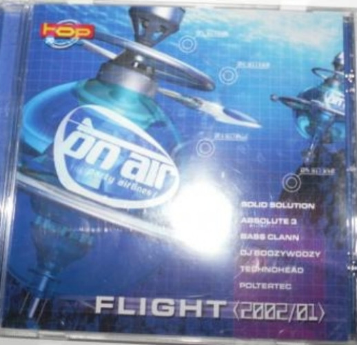 VARIOUS - On Air Party Airlines - Flight [2002/01] - CD