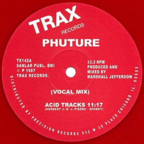 Acid Tracks (red Vinyl)