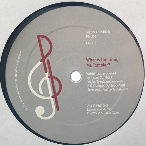 JESPER DAHLBÄCK / DAHLBÄCK & KROME - What Is The Time, Mr. Templar? / The Real Jazz - Maxi x 1