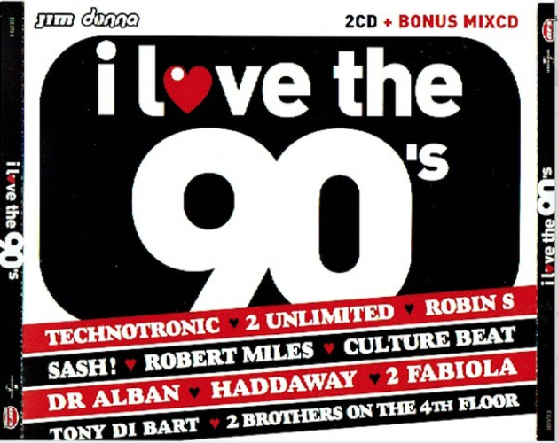 VARIOUS - I Love The 90's - CD x 2