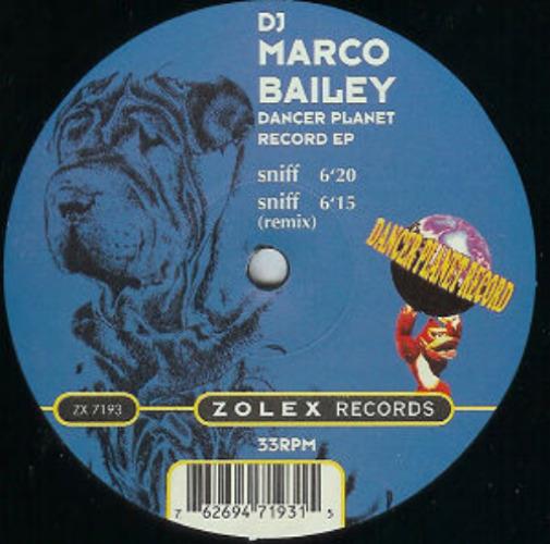 DJ MARCO BAILEY - Dancer Planet Record Ep - Maxi x 1
