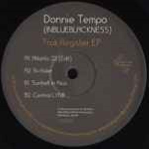 DONNIE TEMPO (INBLUEBLACKNESS) - Trak Register Ep - Maxi x 1
