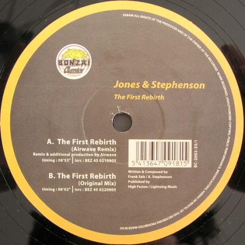 JONES & STEPHENSON - The First Rebirth - Maxi x 1