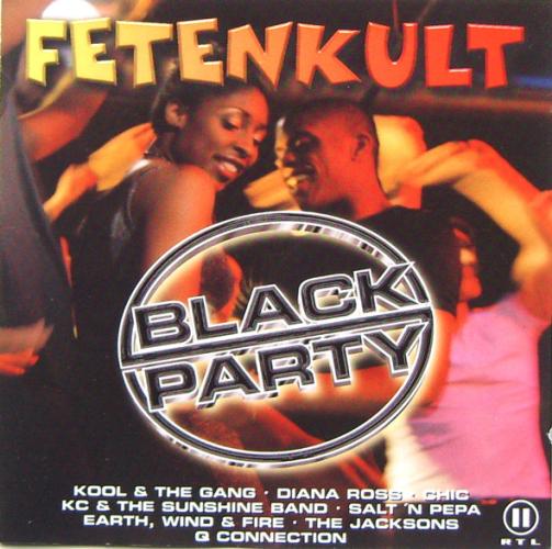 VARIOUS - Fetenkult - Black Party - CD x 2