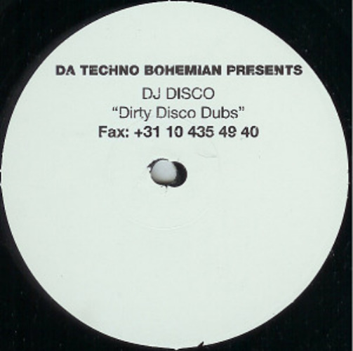 Da Techno Bohemian Presents 'dirty Disco Dubs'