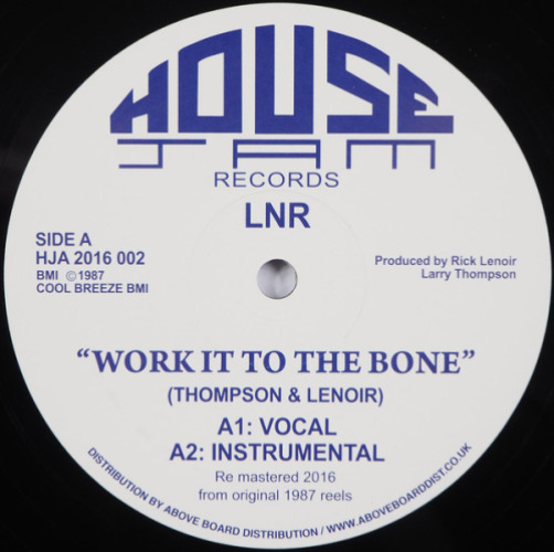 Work It To The Bone (white Vinyl)