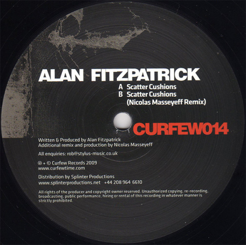 ALAN FITZPATRICK - Scatter Cushions - Maxi x 1