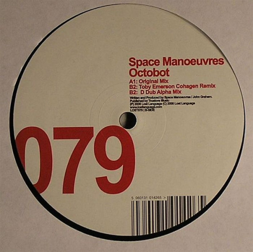 SPACE MANOEUVRES - Octobot - Maxi x 1