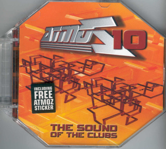 VARIOUS - Atmoz 10 - The Sound Of The Clubs - CD