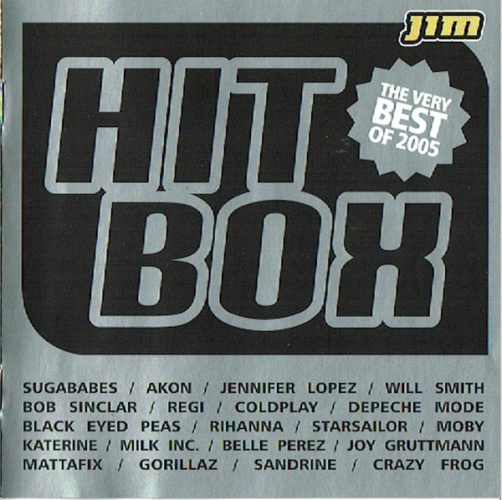 VARIOUS - Hitbox - The Very Best Of 2005 - CD 2枚