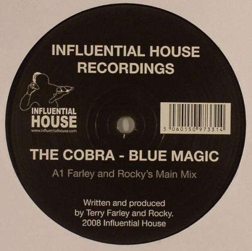 THE COBRA - Blue Magic - Maxi x 1