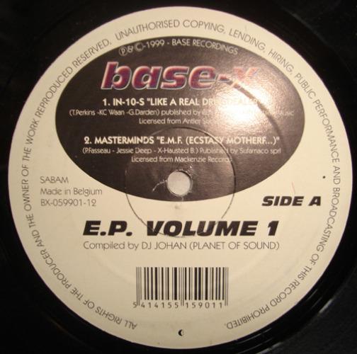 Base-x E.p. Volume 1