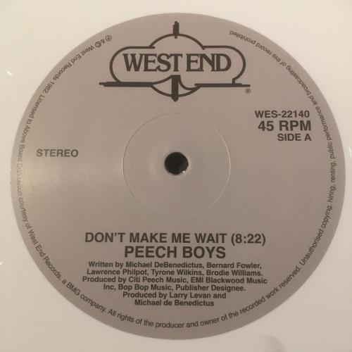 Don't Make Me Wait (white Vinyl)