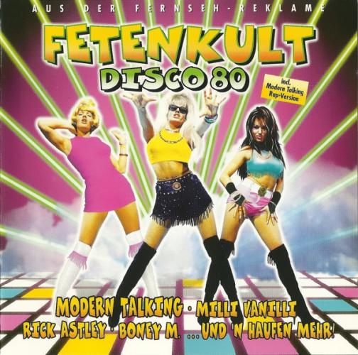 VARIOUS - Fetenkult Disco 80 - CD x 2