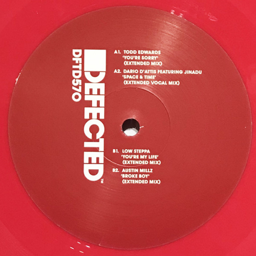 House Music All Life Long Ep 4 (red Vinyl)