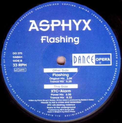 ASPHYX - Flashing - Maxi x 1