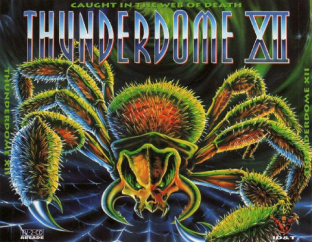 VARIOUS - Thunderdome Xii - Caught In The Web Of Death - CD x 2