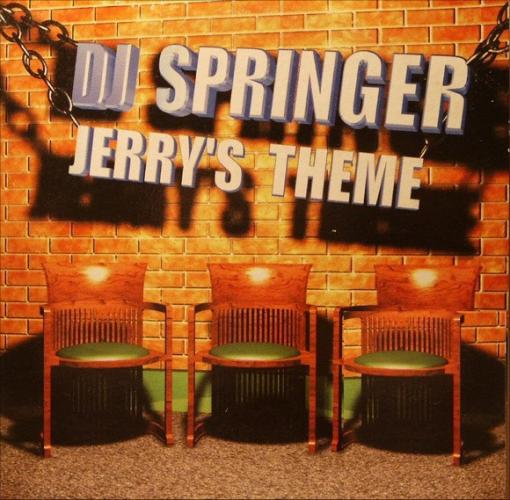 DJ SPRINGER - Jerry's Theme - CD single