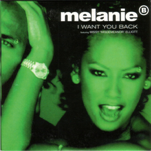 MELANIE B FEAT. MISSY ELLIOTT - I Want You Back - CD single
