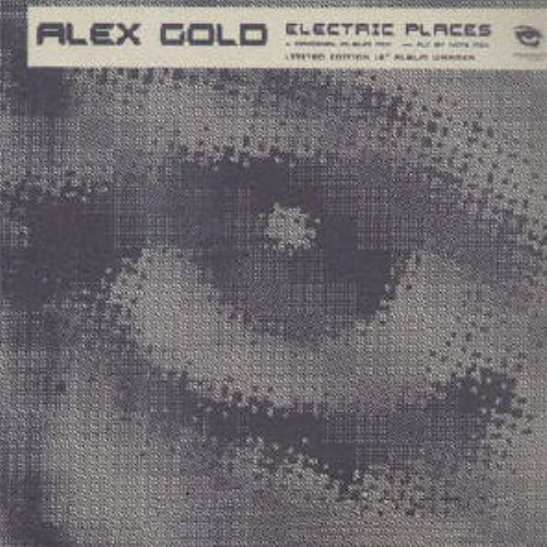 ALEX GOLD - Electric Places - Maxi x 1
