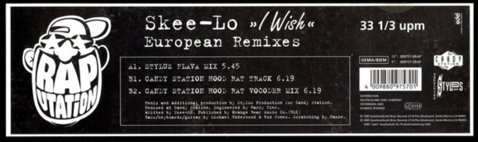 I Wish (european Remixes)