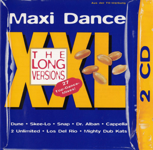 VARIOUS - Maxi Dance Xxl - The Long Versions - CD x 2