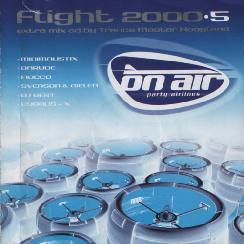 VARIOUS - On Air Party Airlines - Flight 2000.5 - CD 2枚