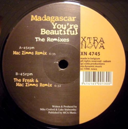 You're Beautiful (the Remixes)