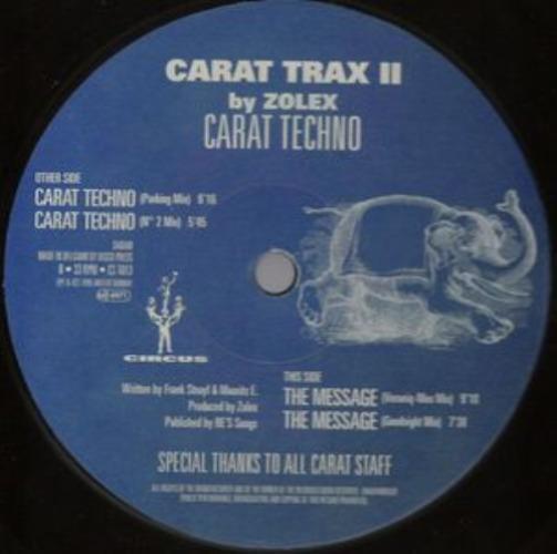 ZOLEX - Carat Trax Ii (the Message) - Maxi x 1
