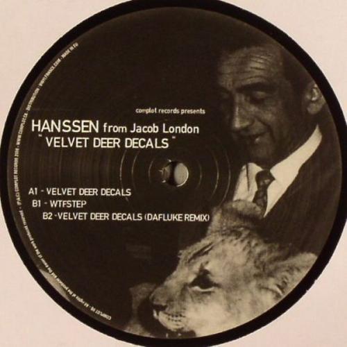HANSSEN - Velvet Deer Decals - Maxi x 1