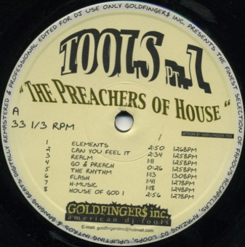 Tools Pt 1 : The Preachers Of House