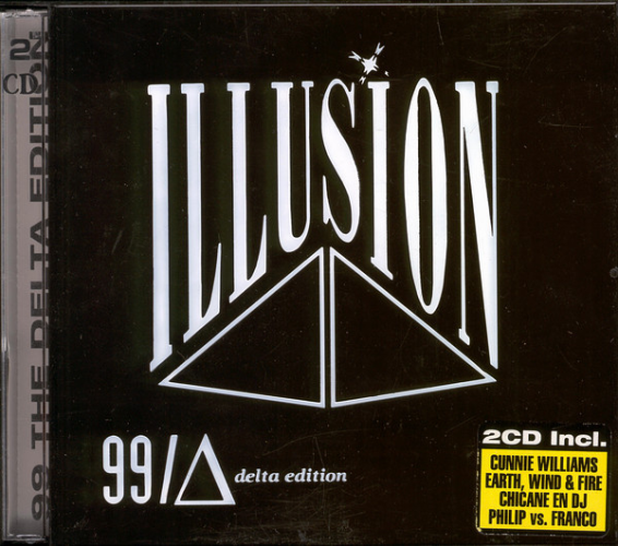 VARIOUS - Illusion 99 - The Delta Edition - CD x 2
