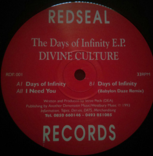 The Days Of Infinity E.p.