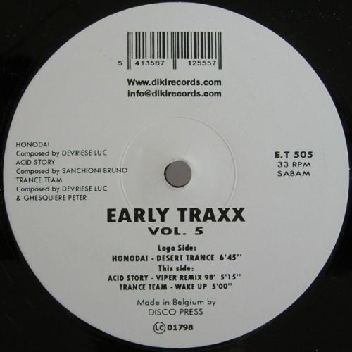 Early Traxx Vol. 5
