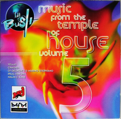 VARIOUS - La Bush - Music From The Temple Of House Vol. 5 - CD 2枚