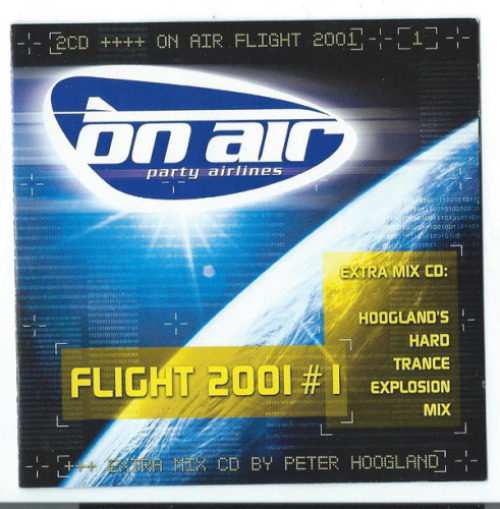 VARIOUS - On Air Party Airlines - Flight 2001 # 1 - CD x 2