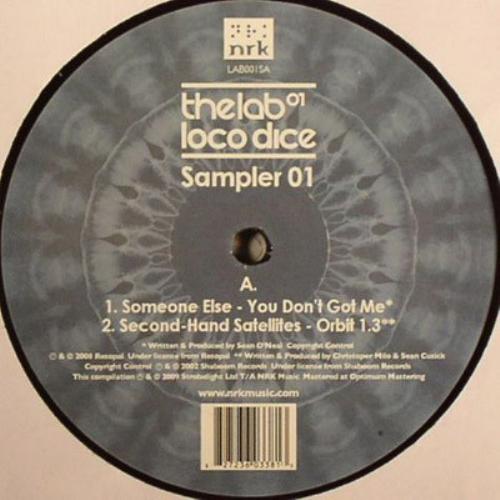 Loco Dice - The Lab 01 Sampler 01