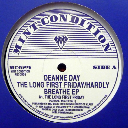 DEANNE DAY - The Long First Friday / Hardly Breathe Ep - Maxi x 1