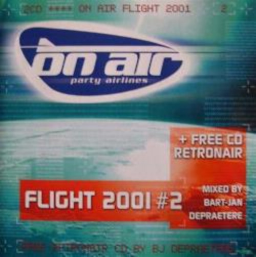 VARIOUS - On Air Party Airlines - Flight 2001#2 - CD x 2